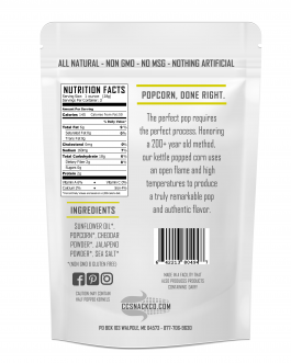Jalapeno Cheddar Kettle Corn
