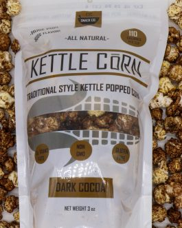 Dark Cocoa Kettle Corn