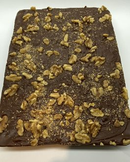 Slab Fudge – Chocolate Walnut